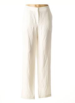 Pantalon casual blanc CREA CONCEPT pour femme