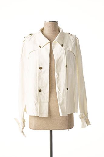Veste casual blanc LOLA ESPELETA pour femme