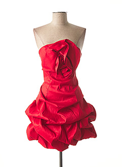Robe courte rouge CHARM'S pour femme
