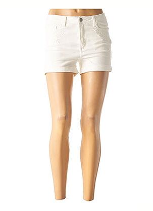 Short blanc VILA pour femme