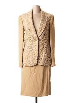 Veste/robe beige ANGEL NINA pour femme