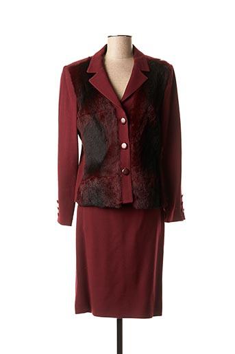 Veste/jupe rouge ANGEL NINA pour femme