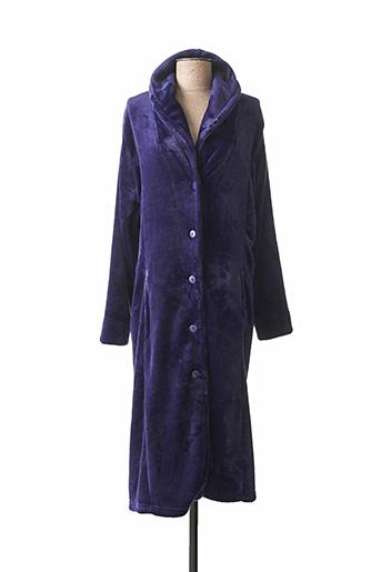 Robe de chambre bleu PASTUNETTE pour femme