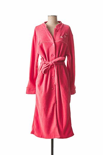Robe de chambre rose JET pour femme