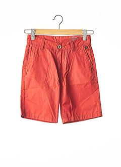 Bermuda orange BLEND pour homme
