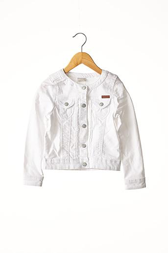 Veste casual blanc NAME IT pour fille