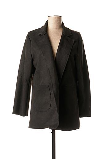 Veste casual noir ESTEE BROWN pour femme