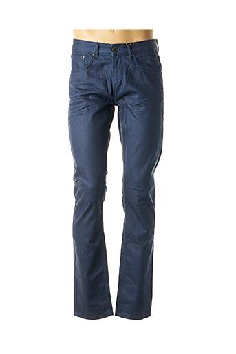 Pantalon casual bleu CASUAL FRIDAY pour homme