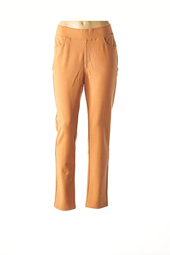 Jogging orange AGATHE & LOUISE pour femme