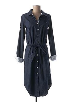 Robe mi-longue bleu BLACK WELLIS pour femme