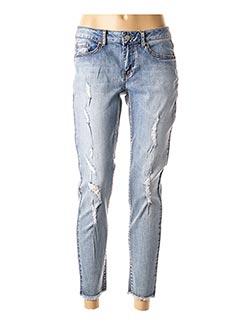 Pantalon 7/8 bleu LCDN pour femme