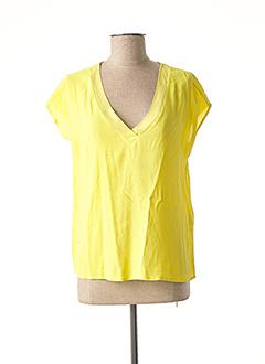 Top jaune AWARE BY VERO MODA pour femme