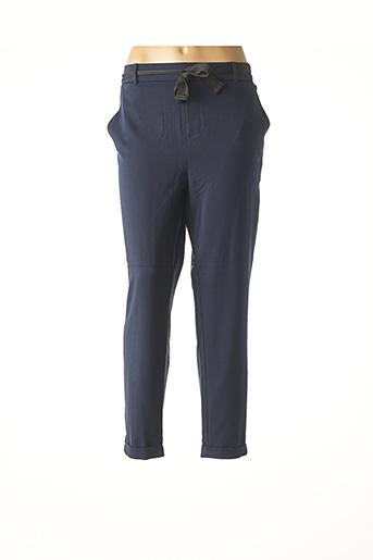 Pantalon 7/8 bleu VERO MODA pour femme