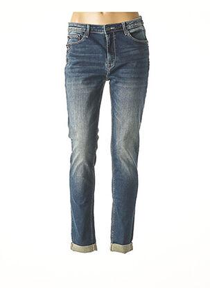 Jeans coupe slim bleu FRACOMINA pour femme