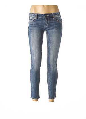 Pantalon 7/8 bleu FRACOMINA pour femme