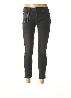 Pantalon casual noir FRACOMINA pour femme
