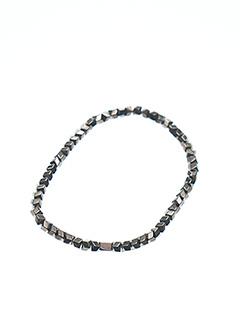 Bracelet marron ZAG pour femme