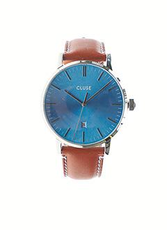 Montre bleu CLUSE pour homme