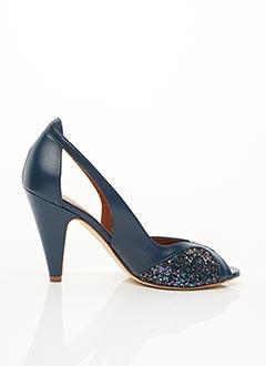 Escarpins bleu EMMA.GO pour femme