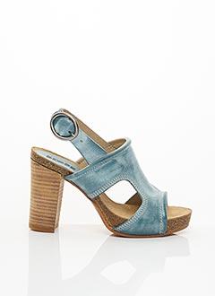 Sandales/Nu pieds bleu DKODE pour femme