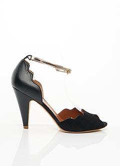 Sandales/Nu pieds noir EMMA.GO pour femme