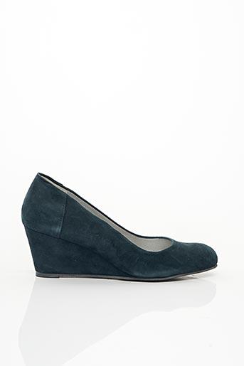 Escarpins bleu ALICIA KAPRI pour femme