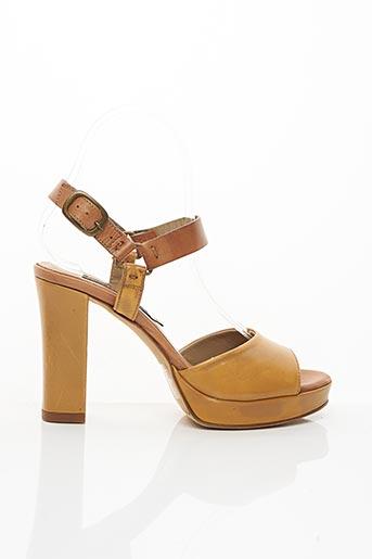 Sandales/Nu pieds marron ALBERTO FERMANI pour femme
