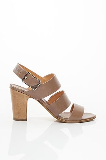 Sandales/Nu pieds marron HUNDRED 100 pour femme