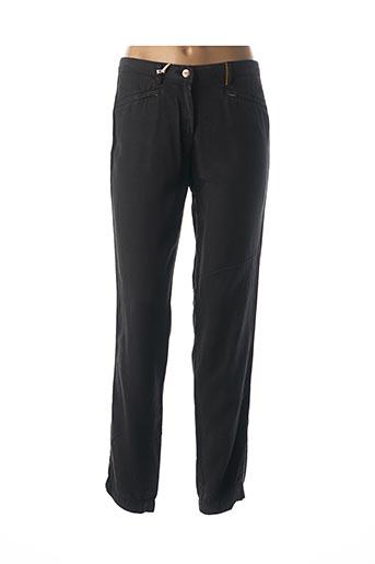 Pantalon 7/8 noir COUTURIST pour femme
