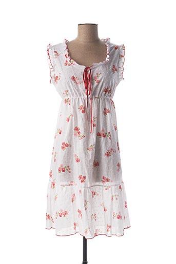 Chemise de nuit blanc LINGELOR pour femme