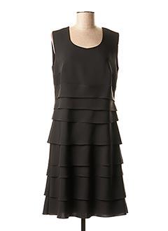 Robe mi-longue noir TELMAIL pour femme
