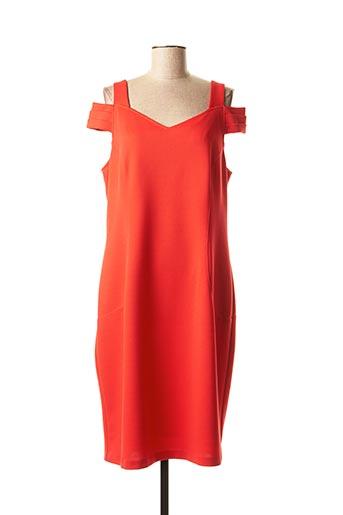 Robe mi-longue rouge DIVAS pour femme