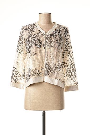 Veste casual beige MERI & ESCA pour femme