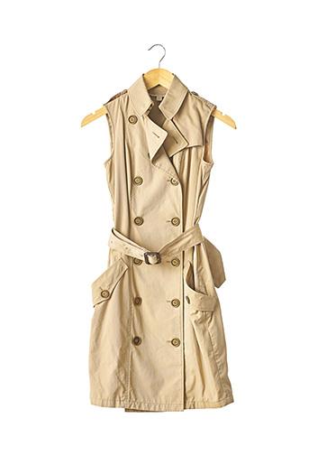 Veste casual beige BURBERRY pour femme