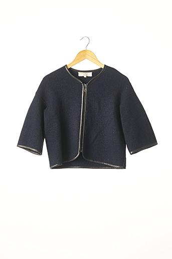 Veste casual bleu ATHÉ pour femme
