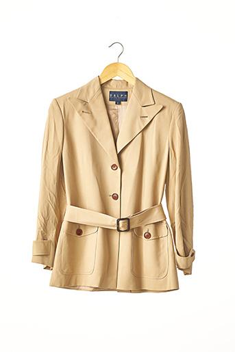 Veste chic / Blazer beige RALPH LAUREN pour femme