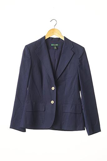 Veste chic / Blazer bleu RALPH LAUREN pour femme