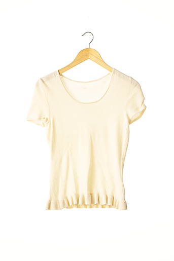 Pull col rond beige EPISODE pour femme