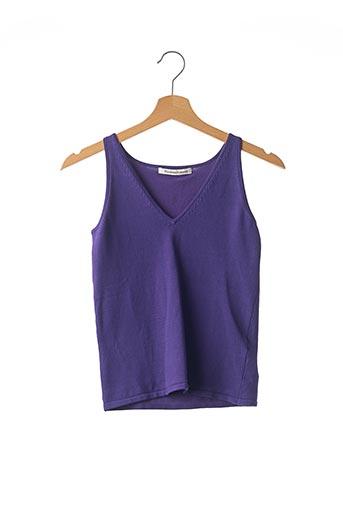 Débardeur violet REGINA RUBENS pour femme