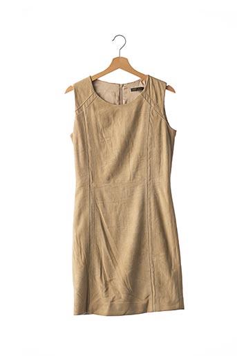 Robe courte beige APOSTROPHE pour femme