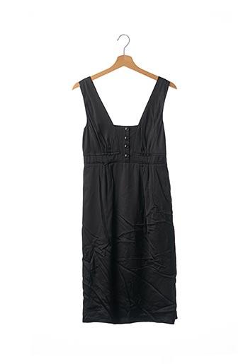 Robe mi-longue noir BURBERRY pour femme