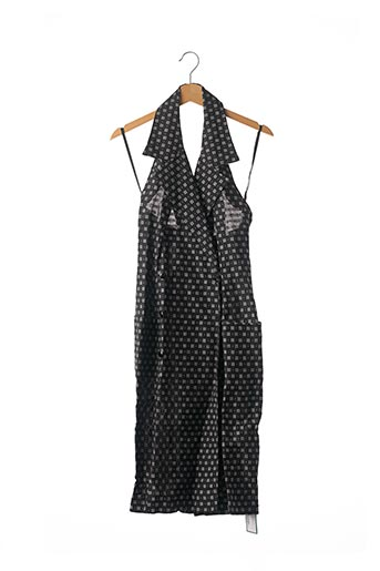 Robe mi-longue noir CHARLES JOURDAN pour femme