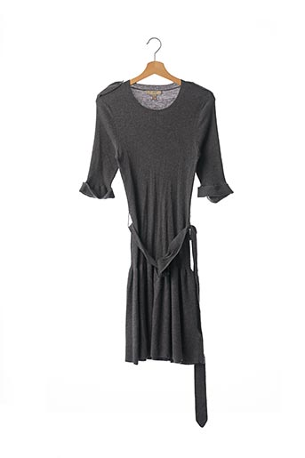 Robe pull gris BURBERRY pour femme