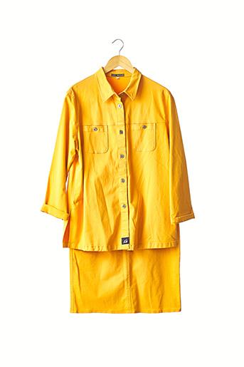 Veste/jupe orange COTE SAUVAGE pour femme