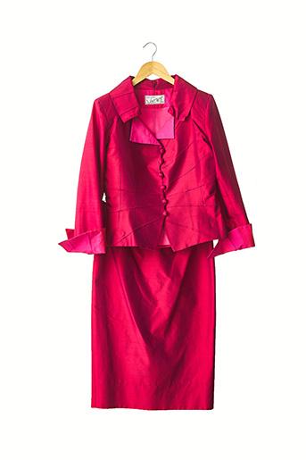 Veste/jupe rose CATHERINE VARNIER pour femme
