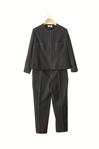 Veste/pantalon noir LANSAC NEUILLY pour femme