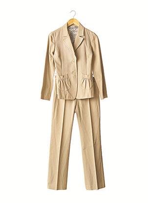Veste/pantalon beige VICTOIRE pour femme