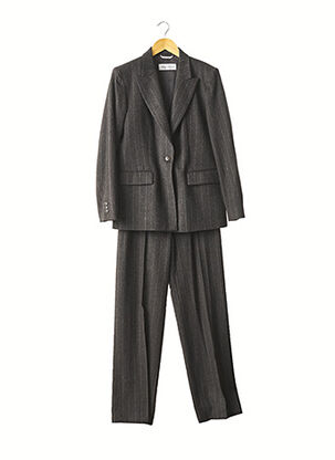 Veste/pantalon gris MAXMARA pour femme