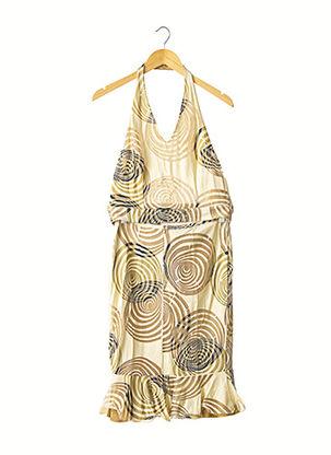 Top/jupe jaune ESPRIT DE FAMILLE pour femme