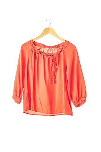 Blouse manches longues orange GERARD DAREL pour femme